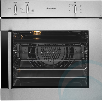 600mm 60cm Westinghouse Electric Wall Oven Pors663rs