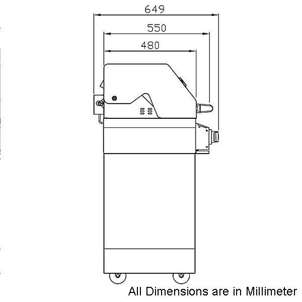 smart 611ww 6 burner trolley bbq with enclosed hood appliances online. Black Bedroom Furniture Sets. Home Design Ideas