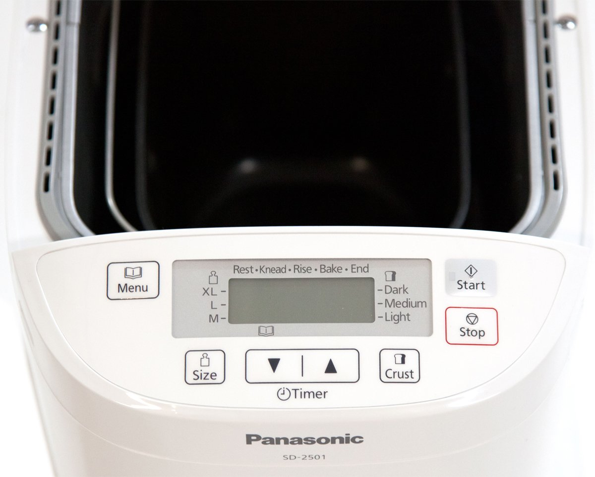 Panasonic Bread Maker SD-2501 - Control Panel & Inside